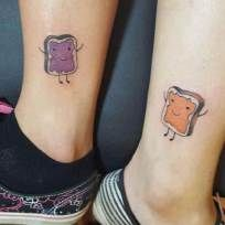 Matching tattoos for best friends, husband and wife, mother daughter or family 14