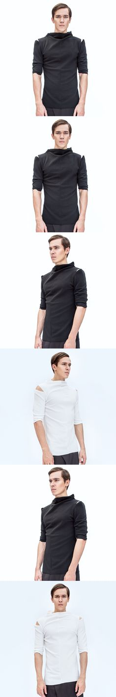 2017 The men Independent menswear products listed slim cultivate one's morality short   singer's clothing  M-XL