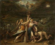 1598.The allegory of the recapture of Győr.Hans von Aachen (1552- 1615)Museum of Fine Arts (Budapest) Ottoman battles.Siege of Győr.