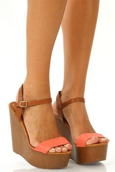 American Honey Wedges: Coral...save 10% with code CSMITHREP and enjoy FREE SHIPPING