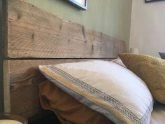 Head Board Using Reclaimed Environmentally Friendly Scaffold Boards – Single / Double / King Size / Queen Size Single Bed Frame Ikea, Single Beds, Desk Shelves, Plant Shelves, Queen Size, King Size, Welsh Cottage, Scaffold Boards, Head Boards