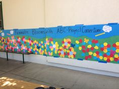 www.projectcornerstone.org  ABC banner on display at Fammatre Elementary School.