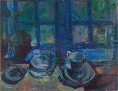 Mer om Ludvig Karsten, Det blå kjøkken