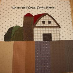 I have been busier than a bee trying to get all 9 barns stitched for the Shoppe sample of Kathy Cardiff's pattern, 'Where the Cows Come...