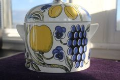 Paratiisi Paradise serving dish with lid by by FinnishTreasures, $217.00