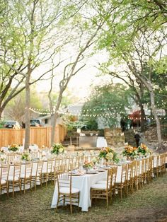 """Searching for a wedding venue is a tough process, but it doesn't have to be. Maybe the right spot for you and your beloved to say """"I do"""" is right under your feet. Literally. At-home weddings are relaxed, personal and, with the right inspiration, just as elegant and lovely as the nuptials in any ballroom or grand garden. And the thing is, you don't need to live on an estate or in a beach house to make it beautiful."""