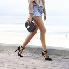 Dressed up cutoffs | @andwhatelse