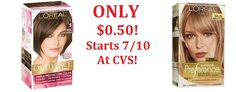 CVS: $0.50 L'Oreal Preference or Excellence Hair Color (Value $8.49) - Starts 7/0!