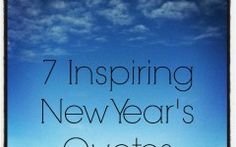 Encouraging Quotes For New Year