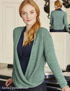 Women's jumper knitting pattern free
