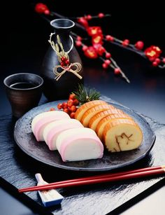 Japanese fish sausage, Kamaboko for a New Year