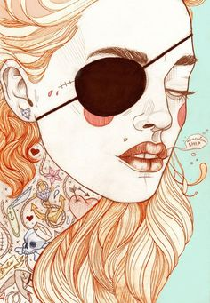 illustration tattoo pin up - Buscar con Google