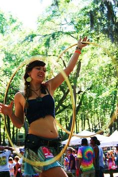 Hula Hoopin' Hippies :)