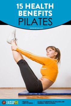 Pilates is a safe and effective method of rehabilitation and exercise that focuses on muscular balance. There are 15 common health benefits of Pilates. Pilates Workout Routine, Pilates Abs, Pilates Training, Pilates At Home, Pilates Reformer Exercises, Pilates Studio, Workouts, Pilates Benefits, Benefits Of Exercise