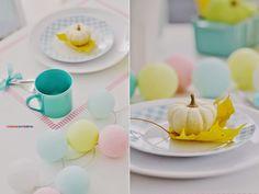 coloresdemialma: pastelowa jesień z Cotton Ball Lights