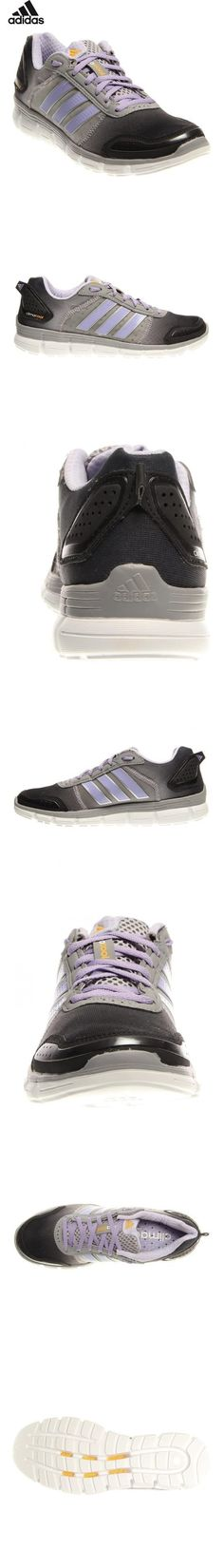 110ba9830  79.9 - New Adidas Women s Climacool Aerate 3 Running Shoes Grey Purple 6