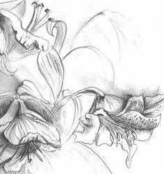 jim dine flowers