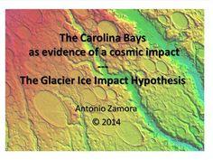 The Carolina Bays as evidence of a cosmic impact: The Glacier Ice Impact Hypothesis. By Antonio Zamora