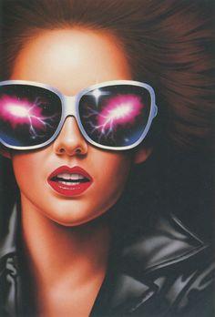 new ideas for pop art girl glasses sunglasses Art Pop, Pop Art Girl, Tamara Lempicka, 1980s Art, Spring Art Projects, Kids Canvas Art, Animal Art Projects, New Retro Wave, Vaporwave Art