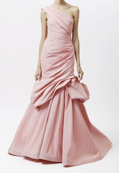 Pretty in pink ... would be gorgeous in white, as a wedding dress.