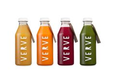Verve is a company dedicated to the production of natural juice by cold pressing technique, offering a variety of six types of juices and two of milk.