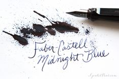 Faber-Castell Midnight Blue: Ink Review