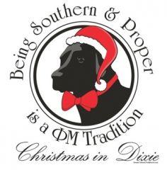 Phi Mu southern proper christmas t-shirt