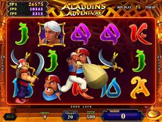 Aladdin's Adventure is new 25-Liner game with Arabian and Genie themed animated graphics. From IGS, the makers of Captain Jack and Egyptian Gold!