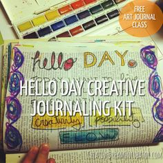Creative Journal Day 24: Hello Day Creative Journaling Kit!