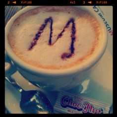 and one for Mel  cafe latte