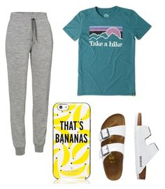 """Lazy Day."" by tayjayne8 on Polyvore featuring Icebreaker, Life is good, Kate Spade and TravelSmith"