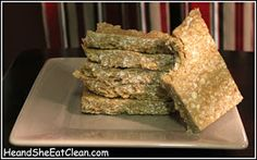 He and She Eat Clean: Clean Eat Recipe :: Four Ingredient Protein Bars