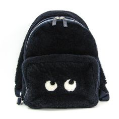 The Anya Hindmarch Eyes Unisex Black / Navy Leather / Wool Backpack is a top 10 member favorite on Tradesy. Kids Tote Bag, Anya Hindmarch, Pumps, Cute Bags, Mini Backpack, Unisex, Black And Navy, Fashion Backpack, Luxury Fashion