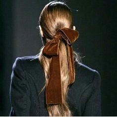 Thick velvet ribbon
