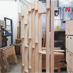 Visit to the workshop to see the room dividers being made. Room Dividers, Plywood, Interior Architecture, Furniture Design, Workshop, Concept, Space, Building, Room Partitions