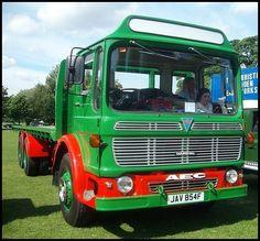 """AEC"" Marshall Major 1968 East Park Hull, Marshall Major, Cherokee Sport, Old Lorries, Vintage Trucks, Commercial Vehicle, Classic Trucks, Cool Trucks, Fiat"