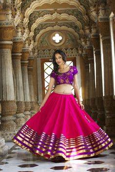 pretty pink lehenga #lehenga #choli #indian #hp #shaadi #bridal #fashion #style #desi #designer #blouse #wedding #gorgeous #beautiful