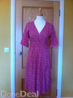 New dress never worn For Sale in Louth on DoneDeal - Clothes For Sale, Clothes For Women, Short Sleeve Dresses, Dresses With Sleeves, New Dress, What To Wear, Wrap Dress, Stuff To Buy, Fashion