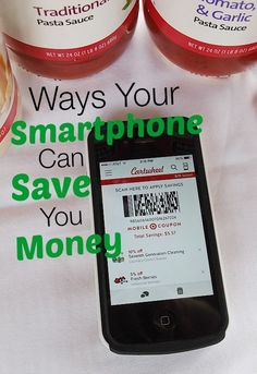 There are so many ways you can use your favorite techy gadget to save money! Here are 7 ways your smartphone can save you money