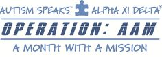 Operation: AAM. Learn how you can celebrate the 1 in 88 all month long for Autism Awareness Month