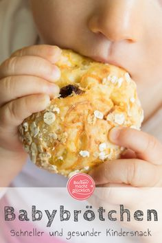 Snacks Recipes Fancy really delicious and healthy children's buns? Baby Food Recipes, Gourmet Recipes, Snack Recipes, Healthy Recipes, Sandwich Recipes, Baking With Toddlers, Baby Snacks, Healthy Kids, Clean Eating Snacks