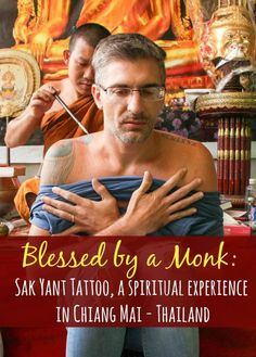 Sak Yant Blessed tattoo, the spiritual bamboo tattoo in Thailand. All you need to know about it: where to do the Sak Yant, how to do, the Sak Yant designs, rules, and how to understand this powerful experience.
