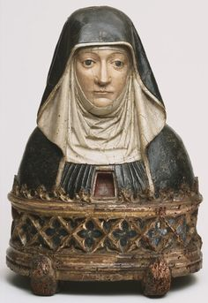 Philadelphia Museum of Art - Collections Object : Reliquary Bust of a Benedictine Nun, possibly Saint Scholastica