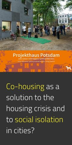 Projekthaus Potsdam is a collaborative form of living and working. This co-housing project includes three houses: two bought and one constructed and it is ran independently by the group of people living there. The house was built by the people residing there and is passive, in other words, energy-efficient. #EUGreenDeal #AffordableHousing #StrongerTogether #SocialInnovation #EuropeForCulture #Cohesion #TeamEurope 📸 Projekthaus Potsdam / © Natalia Irina Roman