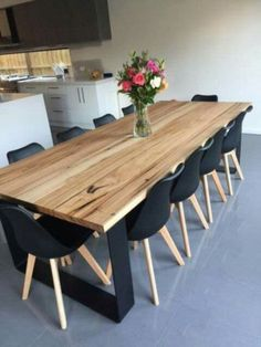 Unique Dining Table Design With Wood 42