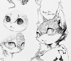 Animal sketches, animal drawings, furry drawing, cat drawing, comic style a Animal Sketches, Animal Drawings, Art Sketches, Furry Drawing, Cat Drawing, Drawing Ideas, Cartoon Drawing Tutorial, Cartoon Drawings, Character Drawing