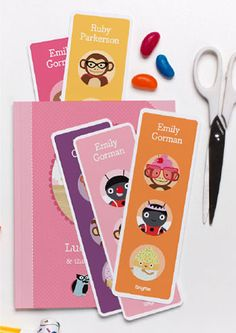 Personalized Printable Bookmarks
