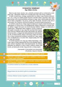 Szövegértést fejlesztő gyakorlatok 3.o. Printables, Education, Study, School, Dyslexia, Languages, Print Templates, Schools, Learning