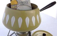 Vintage Cathrineholm Fondue Pot, by theoldmilkbarn