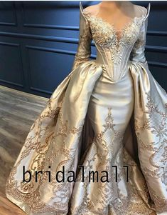 Evilenne Are you wanting a glamorous wedding dress for your special day? We have a list of several gold glam Wedding dress photos that have stunning look into the design. Bridal Dresses, Wedding Gowns, Prom Dresses, Party Gowns, Metallic Wedding Dresses, Queen Wedding Dress, Fantasy Wedding Dresses, Metallic Dress, Princess Wedding